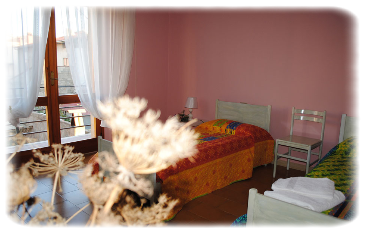 Bed and Breakfast Il Ginepro dormiente, Guspini (VS), Via Guido Rossa n° 4.